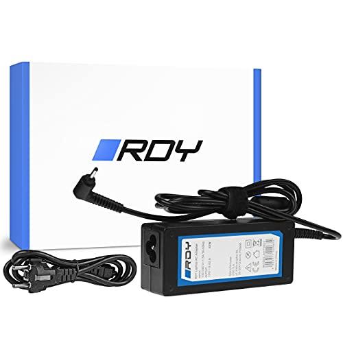 RDY 65W 19V 3.42A Cargador para Portátil Acer Aspire S7 S7-392 S7-393 Samsung NP530U4E NP730U3E NP740U3E Ordenador Fuente de Alimentación Computadora Portátil Adaptador Connector: 3.0 x 1.0mm