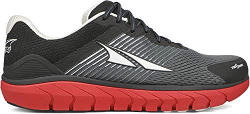 ALTRA Men's AL0A4PEA Provision 4 Road Running Shoe, Black/Gray/Red - 10.5 M US