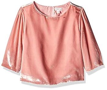 Gymboree Girls  Big Short Sleeve Basic Tee Mas Amor Rojo S