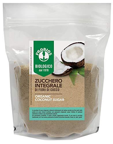 Probios Zucchero Integrale di Fiori di Cocco Bio 500 g
