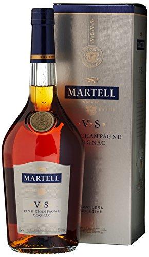 Martell VS Fine Champagne Cognac mit Geschenkverpackung (1 x 1 l)