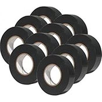 Amazon Com 10 Pack 3m Temflex 1700 Black 3 4 X 60 General Use Vinyl Electrical Tape Home Improvement