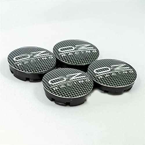 ASZX 1 pieza para O/Z Racing M582 tapacubos de rueda de coche para llantas cubierta de polvo de 55 mm 426 (color: 4 estilos 4)