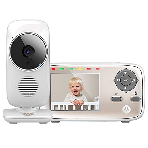 Motorola MBP667CONNECT Video Baby Monitor with 2.8' Handheld Parent Unit...