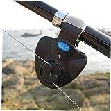 Pesca Mordedura Alarmas Portable Llevó La Luz De La Carpa De La Mordedura De Alarma Pesca Línea Engranaje Alerta Indicador Buffer Caña De Pescar Fuerte Alarma (Color Azar)