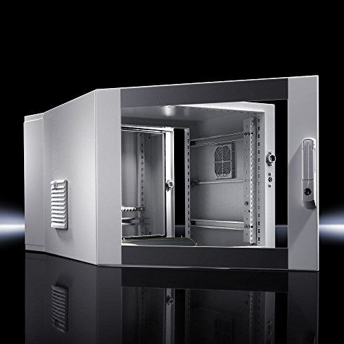 Rittal DK - Mount cabinet - wall mountable - Slate Gray, RAL 7035, RAL 7015 - 21U - 48.3 cm (19
