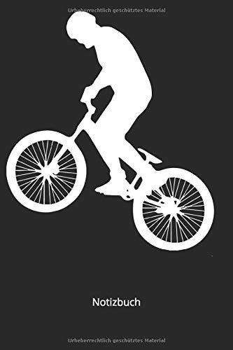 Notizbuch: BMX Mountenbike Rennrad Fahrrad (Liniertes Notizbuch mit 100 Seiten für Eintragungen aller Art)