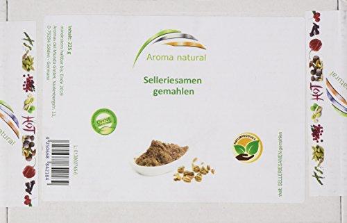 Aroma natural Selleriesamen gemahlen 225 g, 1er Pack (1 x 225 g)