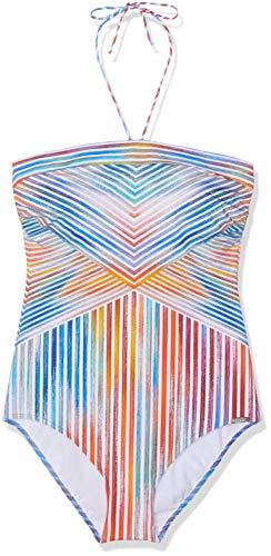 Sunflair Damen Happy LINE Badeanzug, Mehrfarbig (Multicolor 99), 40 (Herstellergröße: 40C)