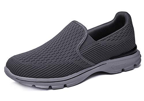 CELANDA Zapatillas Casuales para Hombre Zapatillas sin Cordones Ligeras y Transpirables Calzado...