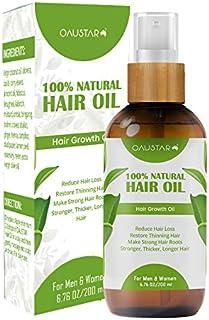 Hair Oil - 100% Organic Natural Herbal Hair Growth Treatment-For All Hair Types(100&200ml)
