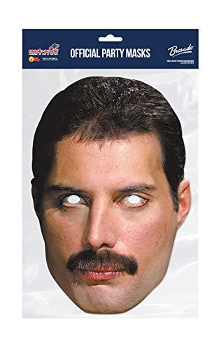 """Funny Costumes Rubies QFMER01 Maske """"Freddy Mercury"""""""
