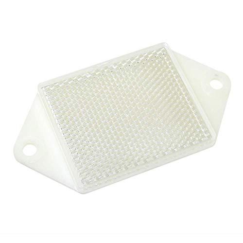 BeMatik - Katadioptrische Spiegelreflektor rechteckig für Fotozelle photoelektrischen 58x49 mm