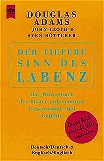 Der tiefere Sinn des Labenz. (German Edition)