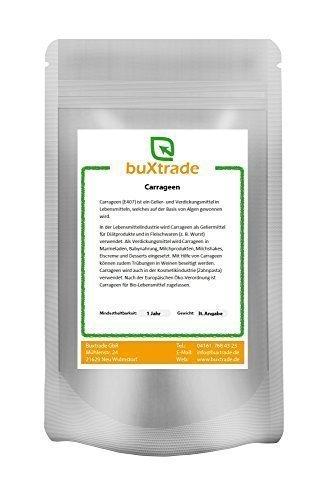 250 g Carrageen E 407 gemahlen Irländisches Moos Carrageenan Hydrokolloide