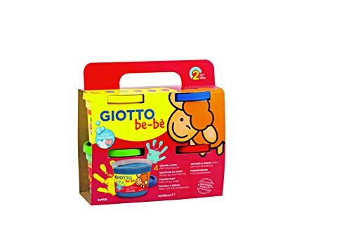 GIOTTO be-bè Be Pintura a Dedos, Multicolor (Fila 467200)