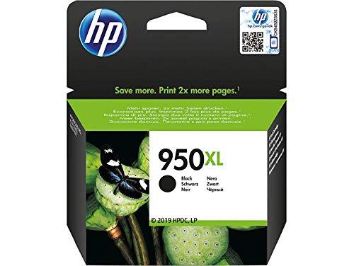 HP CN045AE 950XL Cartucho de Tinta Original de alto rendimiento, 1 unidad, negro