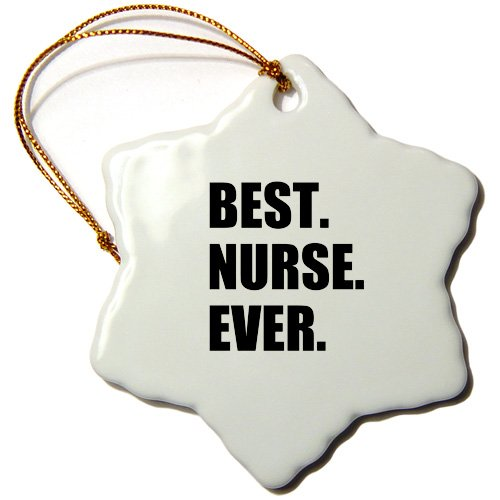 3dRose Best Nurse Ever - worlds greatest nursing staff worker fun nurses...