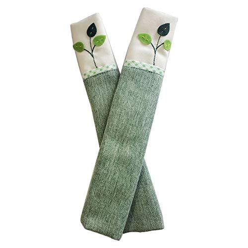 Cubierta de la manija de la puerta del refrigerador de la manija de la cocina de la decoración del aparato maneja guantes