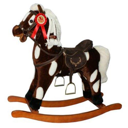 Sweety Toys cheval bascule GIPSY XXL