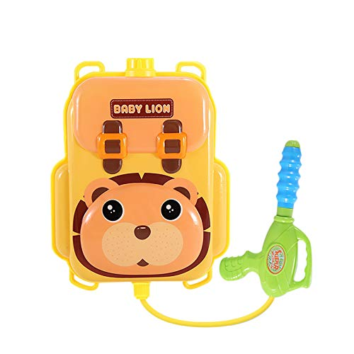 Children's Beach Water Toys, Animals, Backpacks, Water Guns, Pull-Out Water Guns (B)