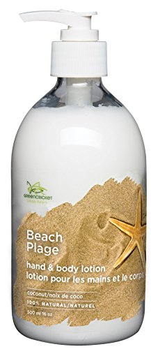 Green Cricket 100-Percent Natural Coconut Hand and Body and Lotion, Clear, 500.0 ml (Pack of 1)