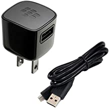 Blackberry OEM Premium Quality Home Charger USB Adapter for Blackberry Z10, Q10, Z30, Passport, Classic, Tour 9630, Torch ...