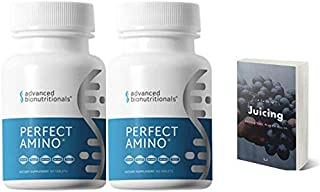Advanced Bionutritionals- Perfect Amino Supplement Two Pack- Complete Formula - 8 Essential Amino Acids - HGH Muscle Build...