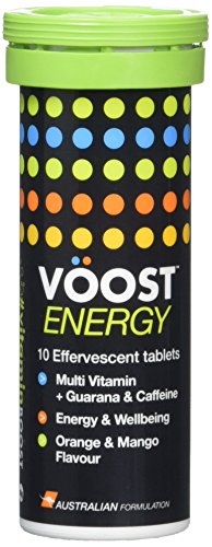Voost Energy Effervescent Tablets, 0.36 kg, Pack of 6, 60-Count