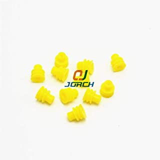 Davitu 100pcs Amp Sealed waterproof 1.5 series automotive plug silicone rubber seal 281934-2 tyco wire seals for auto connector - (Color: 1000 pcs)