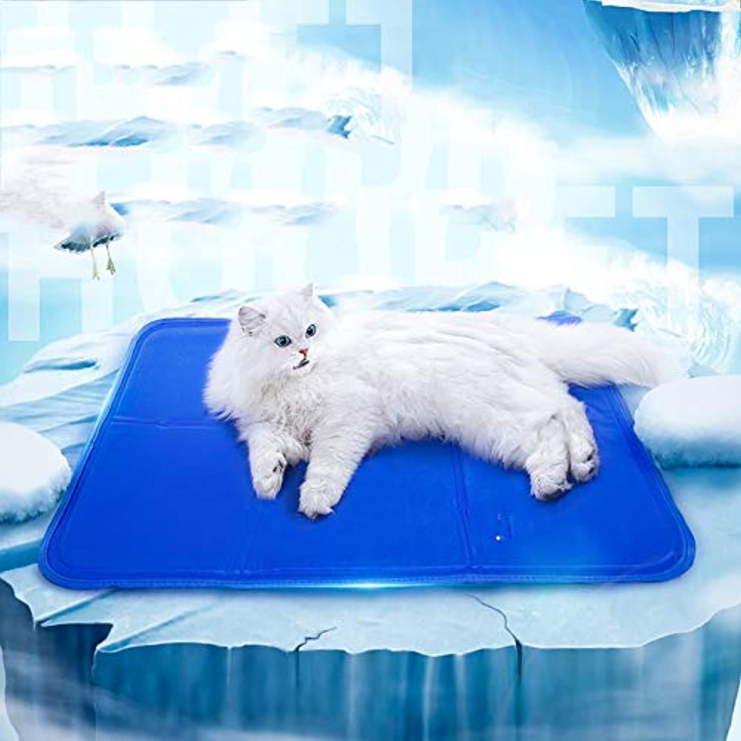 Pet Cool Pad Cat Cooling Sleeping Pad Cat Cage Cool Pad Summer Multifunctional Cat Pad