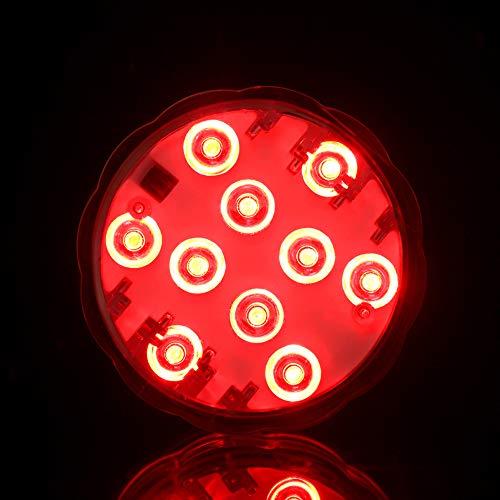Idealife Submersible Lumière DEL-magnétique piscine Lumières DEL Underwater Lights
