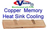 SDR DDR SDRAM Memory Heat Sink Cooling Spreader Copper