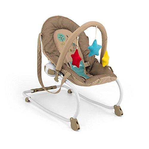 Milly Mally – hangmat schommelstoel baby kaki koe