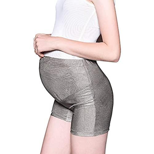 SHUNFENG-EU Mujeres Anti Radiación Maternidad Bragas de la Ropa Interior de Embarazo, Cintura Ajustable, Embarazo hasta el Nacimiento (Size : Large)