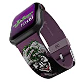 DC Comics - Joker Modern Comic Smartwatch Band - Officially Licensed, Compatible with Apple Watch (not Included) - Fits 38mm, 40mm, 42mm and 44mm