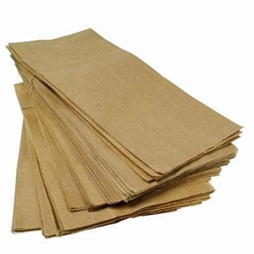 Caja kg. 15–Bolsas de papel marrón Avana Pan, Pizza, 209de horno y...