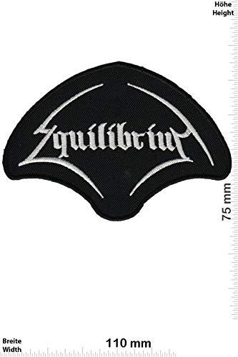 Equilibrium Pagan Metal Band Patch Badge Applique Geborduurd IJzer op