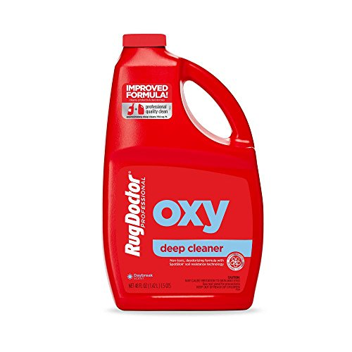 Rug Doctor Triple Action Oxy Deep Carpet Cleaner; Powerful, Professional-Grade, Deodorizes and Refreshes Carpets, Protects Soft Surfaces from Spills and Stains, Cleans 4 Rooms, CRI-Certified, 48 Oz.