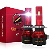 Firehawk 2021 New H7 LED Bulbs, 15000LM Japanese CSP, 400% Brightness,...