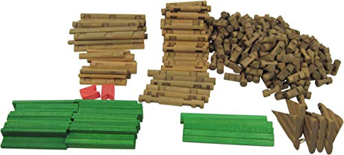 Imaginarium 300 Pc Timber Logs, Multicolor