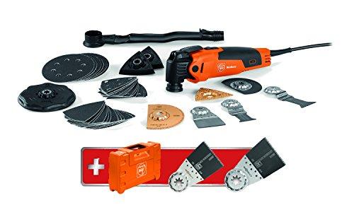 Fein MultiMaster 350 QSL Set Edition M (Multitool 230V Netzstecker; Zubehör + Koffer; 350W; Starlock) 72295283000