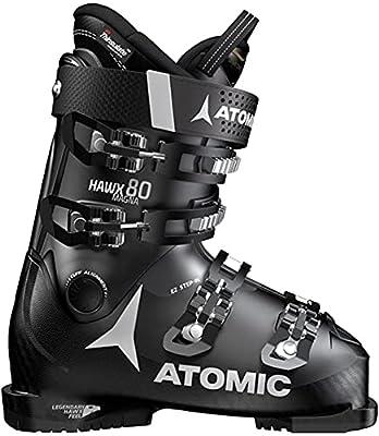 Atomic HAWX Magna 80 Ski Boots Mens Sz 10/10.5 (28/28.5) Black/Anthracite