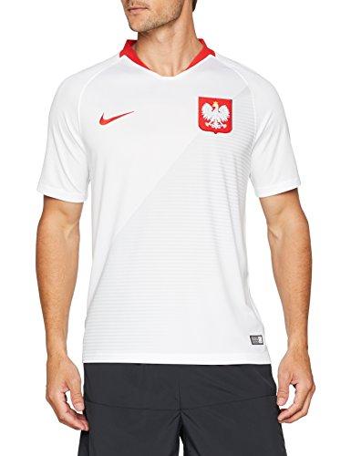 Nike Herren Poland Home Stadium Trikot, weiß (white/Sport red/Sport red), 2XL
