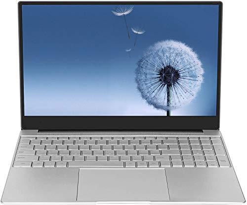 Laptop da 15,6 pollici (Intel Celeron 64 bit, 8 GB di RAM DDR4, SSD da 256 GB, batteria da 10000 mAH, webcam HD, sistema operativo Windows 10 Pro prei