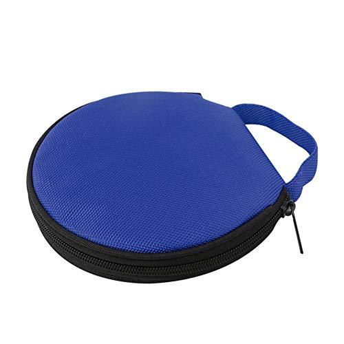 Steellwingsf solide Farbe r& Oxford Tuch Auto zu Hause 20 Scheibe CD-Aufbewahrungstasche Tasche Rei?Verschluss-Tasch-blau