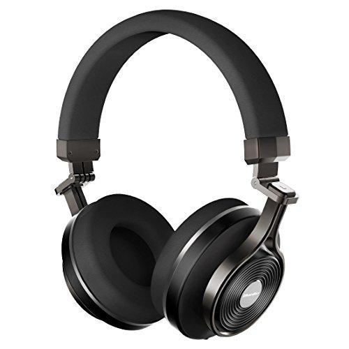 Bluedio T3(Turbine 3rd) cuffie stereo wireless Bluetooth 4.1 con extra bassi, nero