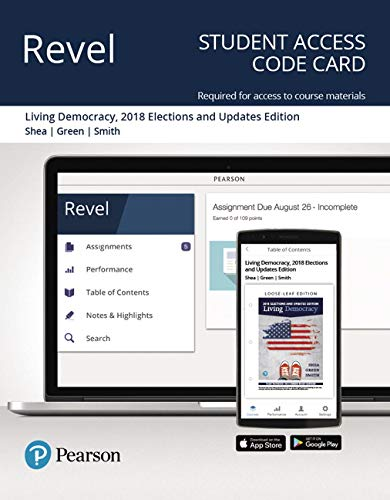 Revel for Living Democracy, 2018 Elections and Updates Edition -- Access Card