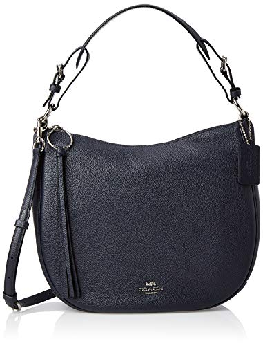 Coach Sutton Hobo Ladies Medium Blue Leather Shoulder Bag 35593SVBHP