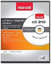 Maxell Safe and Effective Feature CD Player and Game Station Compact Disc Cleaner CD-340..